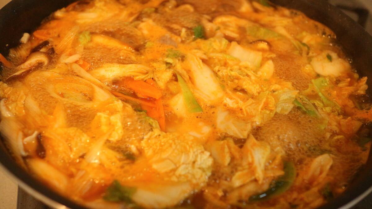 ビオサポ食材セット調理工程