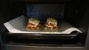 オーブンで焼いた穴子のミルフィーユ