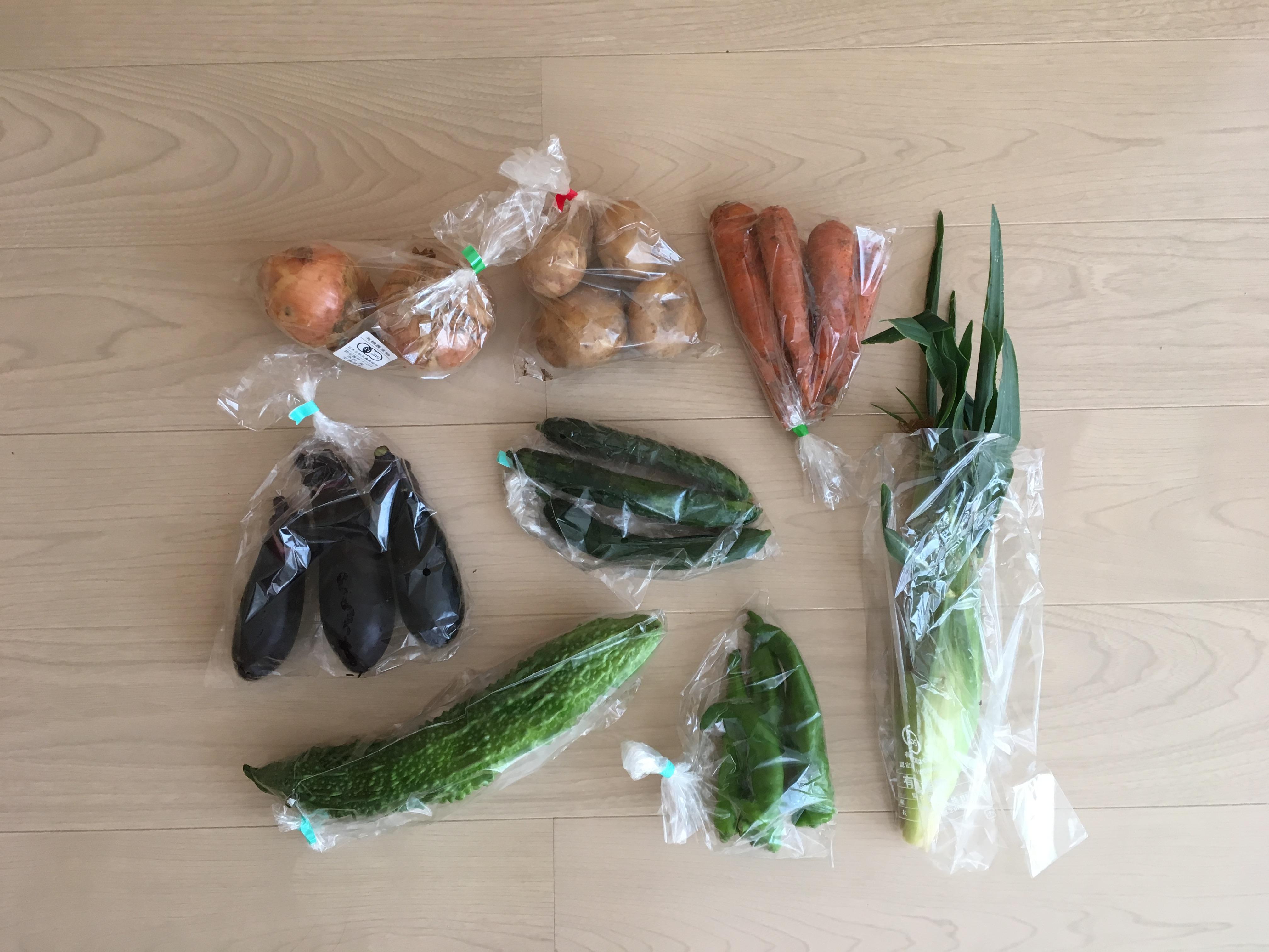 独自の厳しい安全基準をクリアした野菜・果物