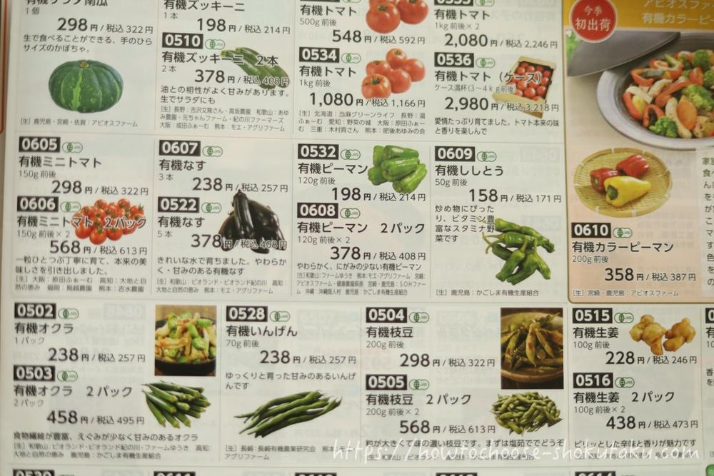 ビオ・マルシェの宅配の商品価格と配送料